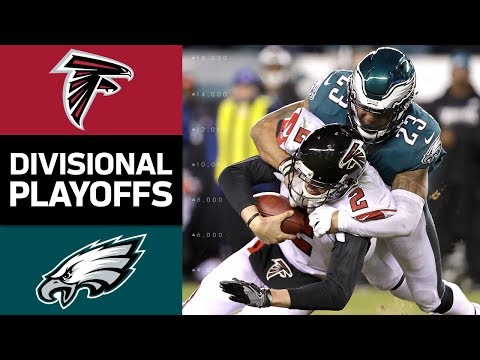 Falcons vs. Eagles | NFL Divisional Round Game Highlights