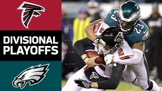 Falcons vs Eagles  NFL Divisional Round Game Highlights