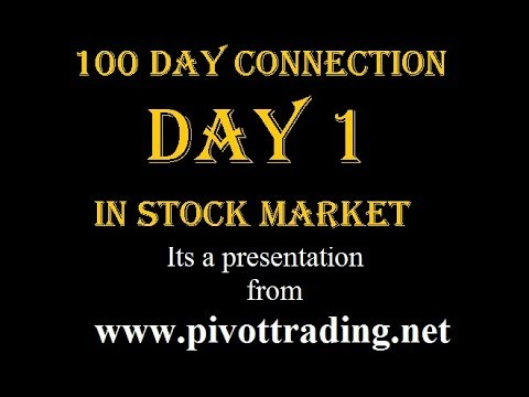Day 1 - 100 Day Connection of Stock Market - The Beginning