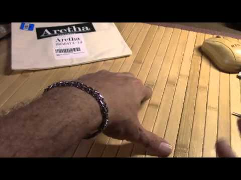 Aretha 316L Stainless Steel 7mm Unisex Silver Straight 7 7 Inch Curb Chain Tick Bracelet
