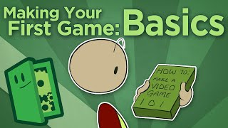 Making Your First Game: Basics - How To Start Your Game Development - Extra Credits(Subscribe for new episodes every Wednesday! http://bit.ly/SubToEC Sponsored by Unity: http://bit.ly/ECUnity Join us live on Twitch! http://bit.ly/ECTwitch ..., 2015-01-14T15:01:03.000Z)