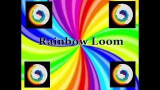 Rainbow Loom/ Плетение из резиночек/Наушники из резинок лумигуруми.