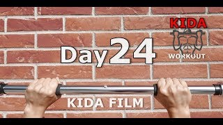 Day 24 /30 Pull-Up Calisthenics Workout Challenge