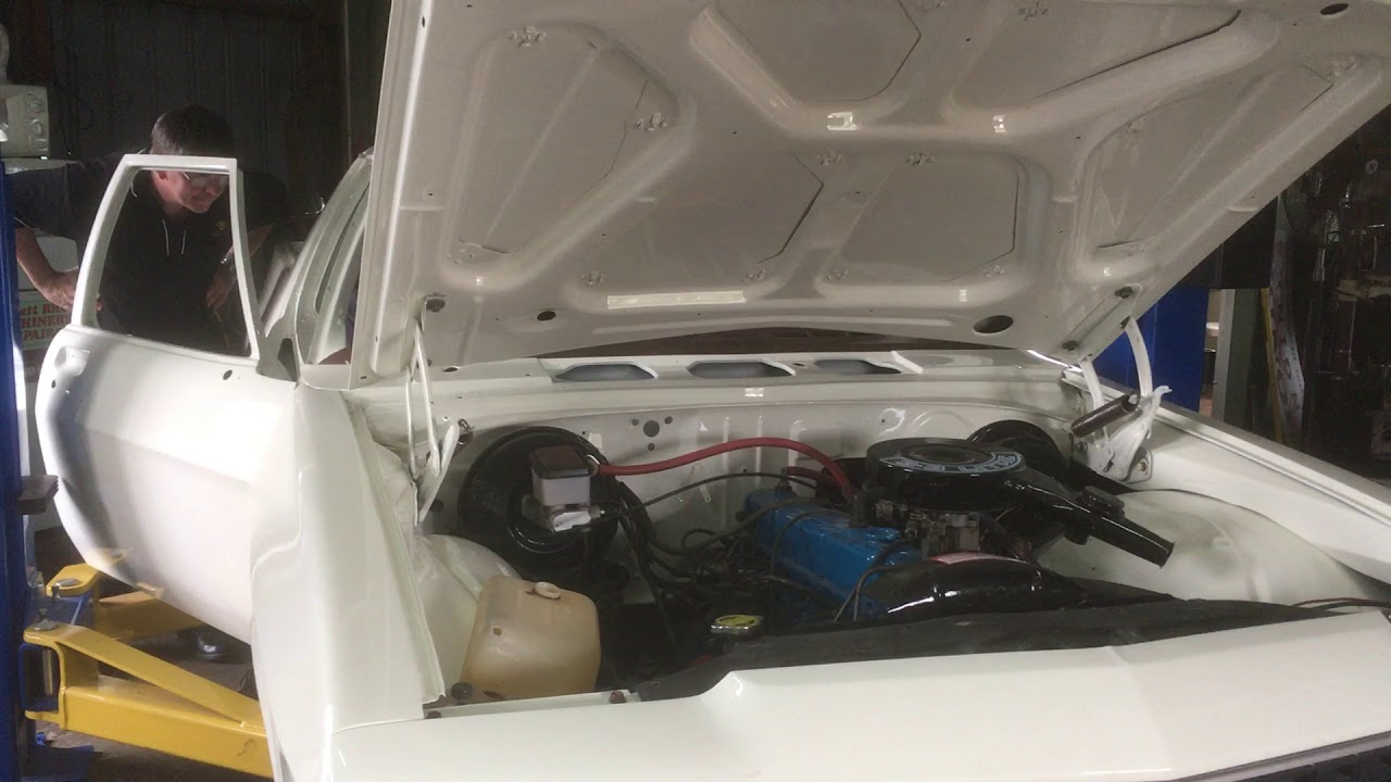WB Ute Restoration - And the Motor Runs