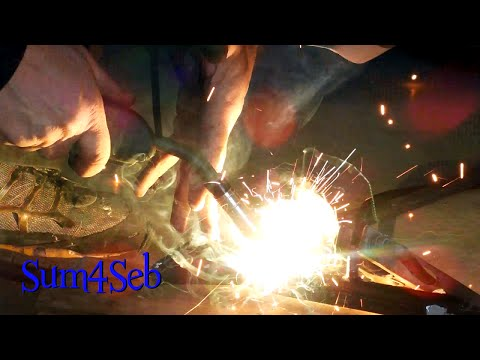 Kickstand Cut and Weld Suzuki DR650 |¦| Sum4Seb Motorcycle Video