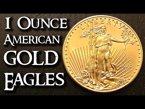 1 Ounce American Gold Eagle Coins - Good For Gold Investing?