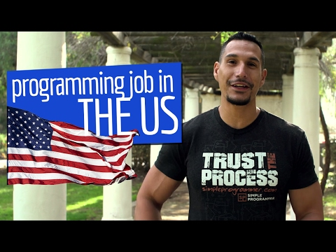 How To Get A Programming Job In The US?