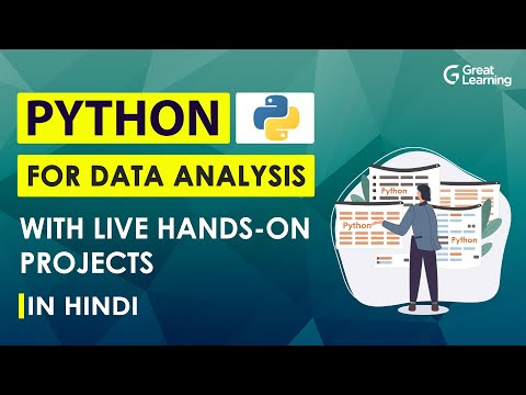 Python for Data Analysis with Live Hands-on Projects in Hindi   Python Projects