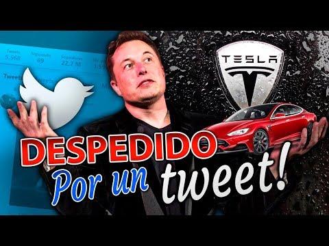 Despiden al Dueño de Tesla Elon Musk por un Tweet! WTF? Por su Twiiter