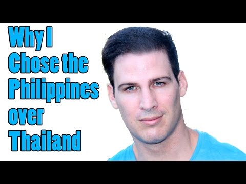 Why I Live in the Philippines and NOT Thailand