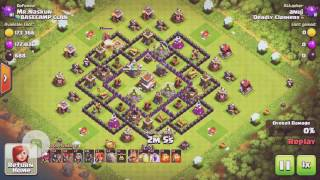 GOVALO |Th8| strategy- Clash of Clans 2017