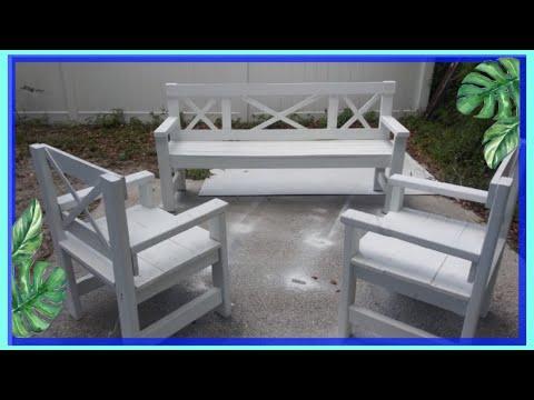 Como Hacer Muebles De Madera Sofas Para Tu Balcón ó Terraza
