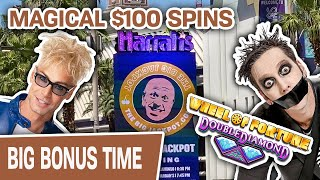 🎡 WHEEL OF FORTUNE $100 SPINS with Magic Murray & Tape Face 🎩 BONUS: Magic MAYHEM