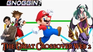 Video Game Crossover Web part 2 | Gnoggin | Doctor Who to Kingdom Hearts