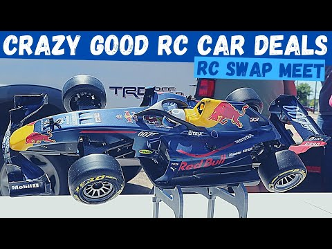 I Bought An Entire Table at an RC Car Swap Meet | Traxxas TRX4 Hudy RC