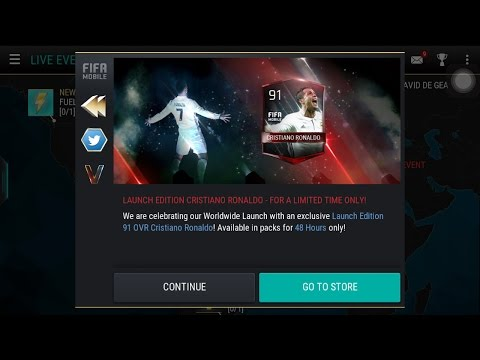 FIFA 17 MOBILE | HUNTING FOR LIMITED EDITION CRISTIANO RONALDO AND BARCELONA HERO PACK OPENING EP.1