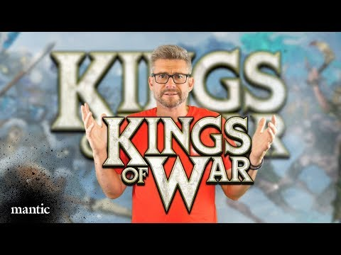 Ronnie introduces Kings of War: Third Edition