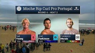 Moche Rip Curl Pro Portugal: R4, H2 Recap