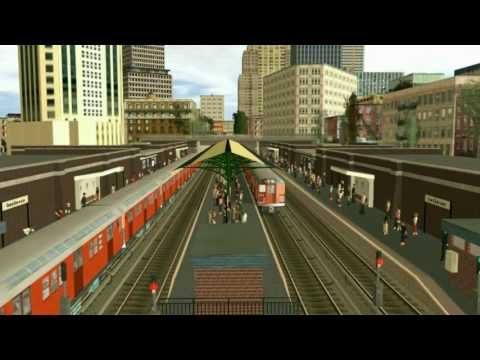 RTA (2) Express Full Route - King of Trainz Station Announcements