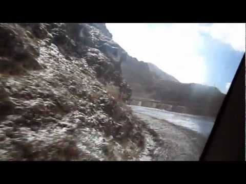 ancient Silk route snow fall