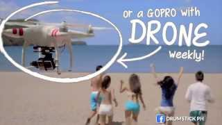 Win GoPro Cameras and a DRONE - Funner Summer Text Promo 2015 | NESTLE DRUMSTICK | Nestle PH