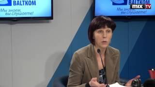 """Представитель Государственного центра содержания образования Зане Олиня в программе """"Разворот""""#MIXTV"""