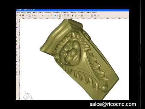 Industrial 3D Scanner Scanning with Geomagic Software for CNC Machine