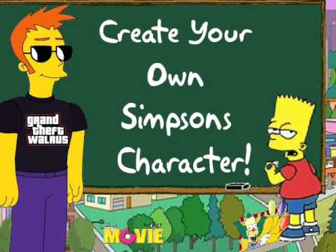 Create Your Own Simpsons Character Youtube