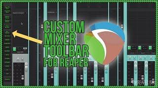 Custom Mixer Toolbar 2018 Update - Speed Mixing Tip