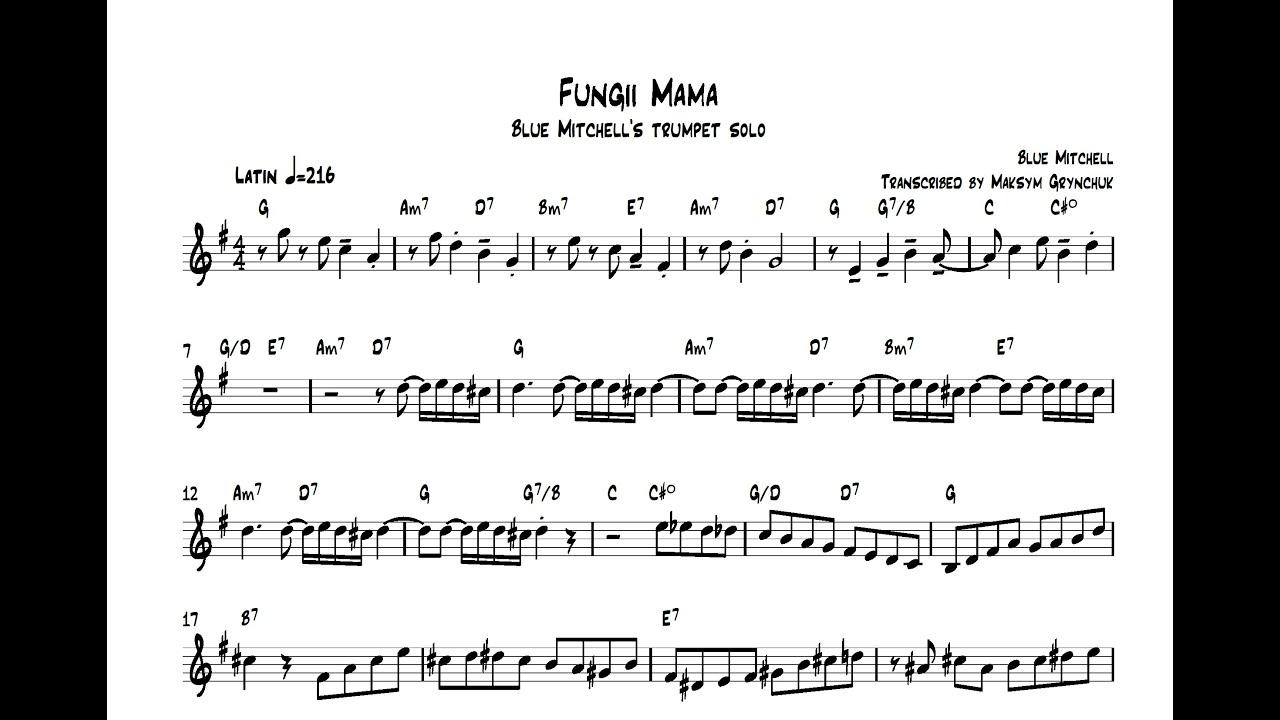 Blue Mitchell - Fungii Mama