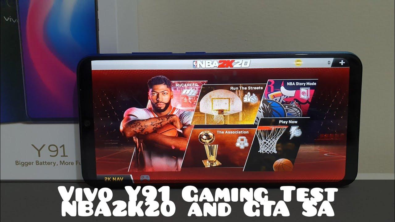 Vivo Y91 Gaming Test NBA2K20 and GTA SA / GADGET XTREME