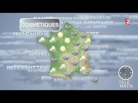 Météo de l'emploi - Le secteur de la cosmétique recrute - 20150622