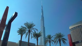 The Tallest Building of the World: Burj Khalifa, Dubai, United Arab Emirates, 11/29/2015