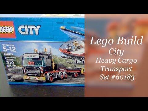 LEGO City Build - Heavy Cargo Transport Set #60183