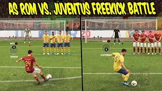 Legendäre JUVENTUS vs. AS ROM Freistoß Challenge mit geilen Freistößen! - Fifa 20 Ultimate Team