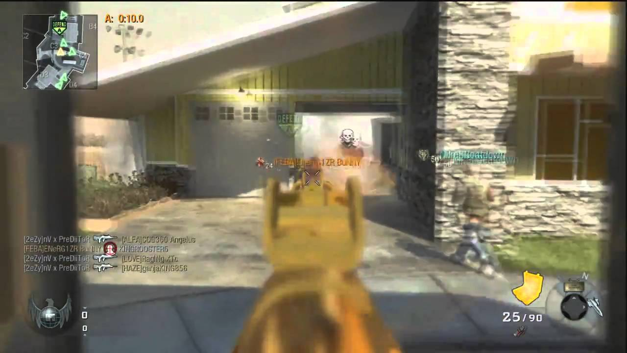 Black Ops Live Commentary On Nuketown!