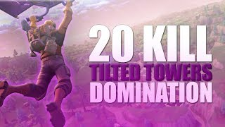 INSANE NEW TILTED TOWERS GAMEPLAY (20 KILLS) - oMods