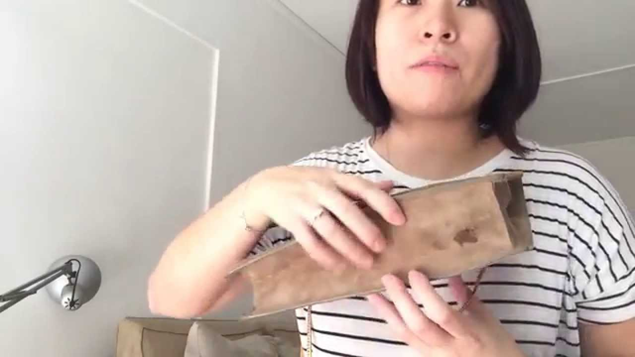 YSL Saint Laurent Betty Bag/ How to maintain a suede bag - YouTube