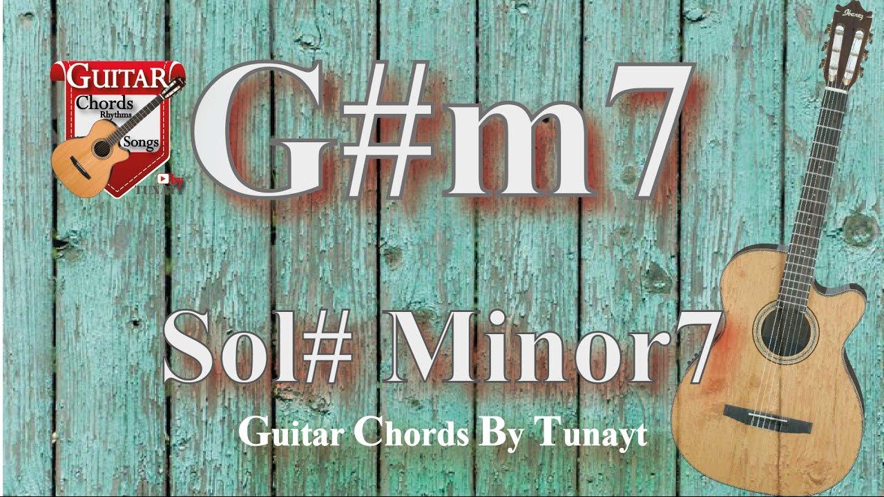 ★Sol#8 minor  How to play G#m8 chords on guitar  Sol# minor 8 Akoru  Gitarda Nasıl Basılır ?