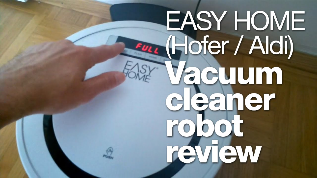 Hofer Aldi vacuum cleaner robot review