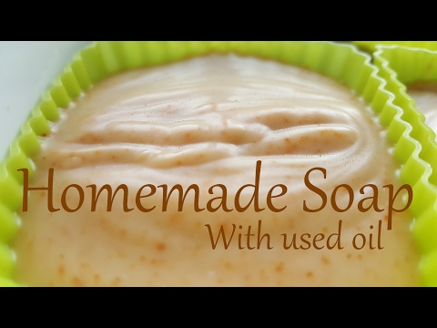 Homemade Soap with used oil