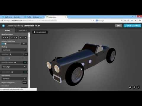 Sketchfab - platforma dla modeli 3D / Sketchfab - platform with 3D models