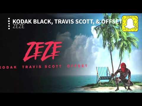 Kodak Black - ZEZE (Clean) ft. Travis Scott & Offset