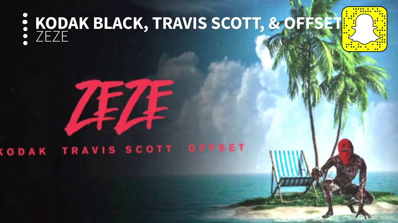 926a9d1534b0 Kodak Black - ZEZE (Clean) ft. Travis Scott & Offset - YouTube