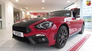New Abarth 124 Spider at Pentagon Fiat Huddersfield