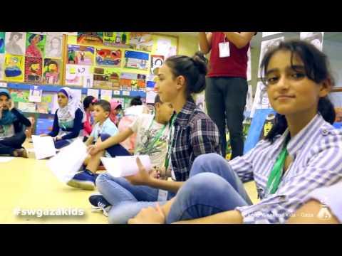 ستارت اب ويكند كدز - غزة  في يومه الثاني  Startup Weekend Kids - Gaza