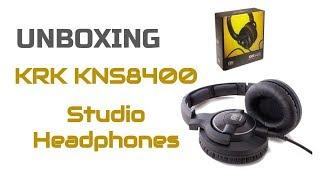 Unboxing KRK KNS8400 Studio Headphones