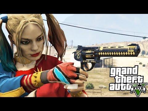 GTA V Harley Quinn's Revolver (Suicide Squad)