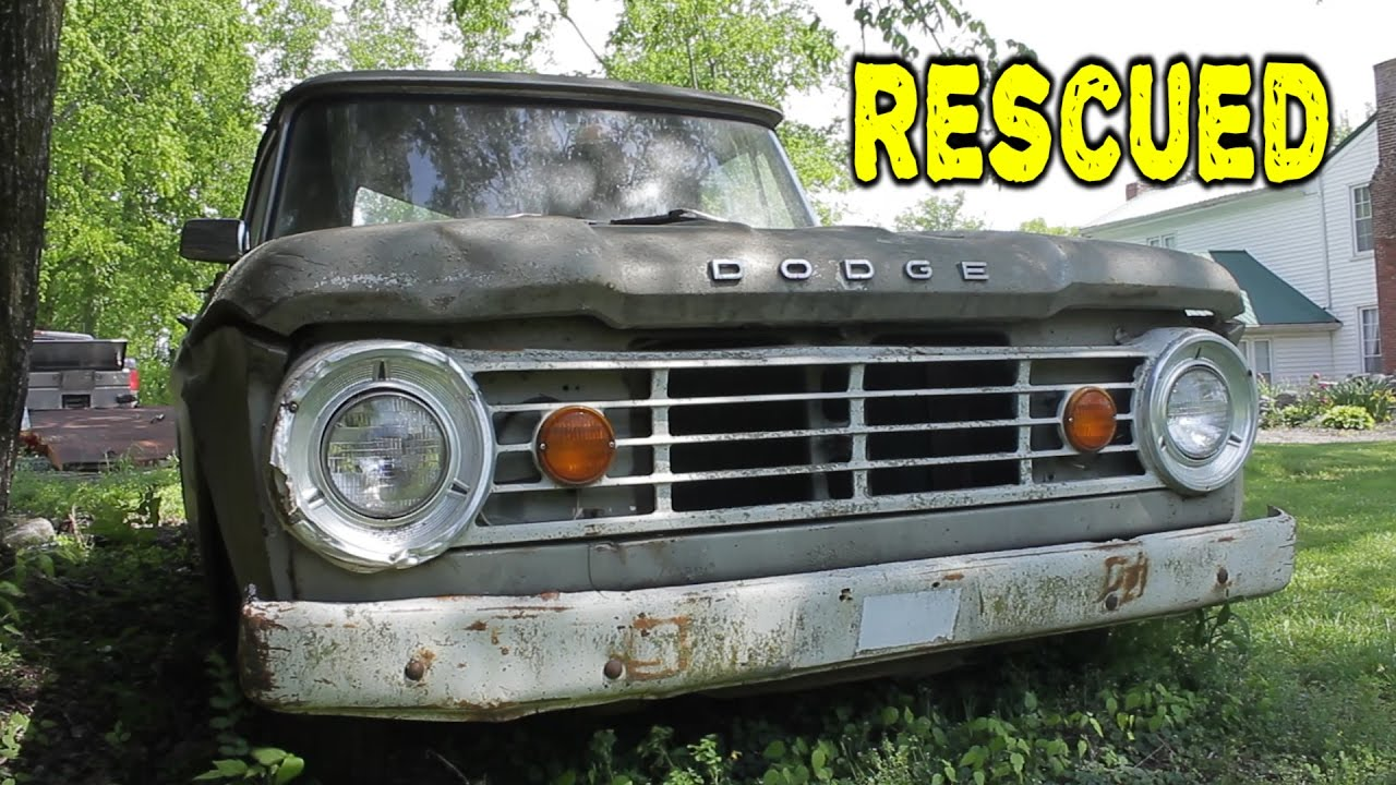 Dodge Truck RESCUED From Years of Sitting