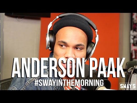 Anderson .Paak on Moment he Knew Dr. Dre Liked his Work + Soulfully Freestyles Live